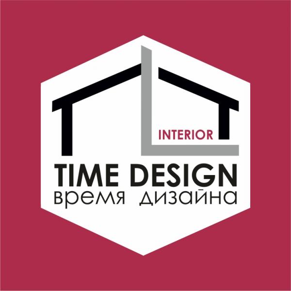 Логотип компании Time Design - Время дизайна