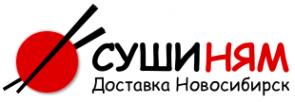 Логотип компании Суши Ням