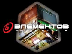 Логотип компании 5 элементов