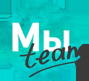Логотип компании Мы team