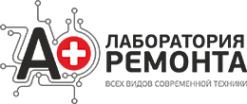 Логотип компании А Плюс лаборатория ремонта ноутбуков