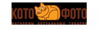 Логотип компании Котофото