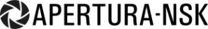 Логотип компании Апертура-нск