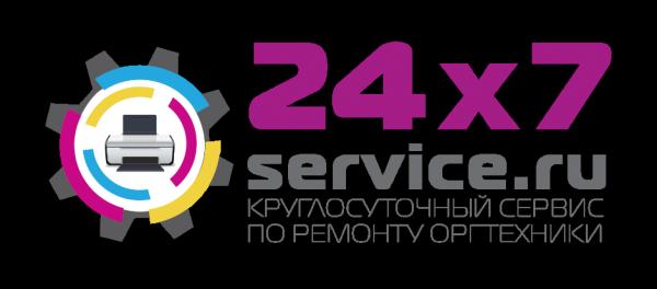 Логотип компании 24х7