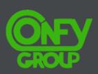 Логотип компании Конфи