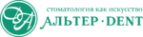 Логотип компании АльтерДент