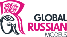 Логотип компании Global Russian Models