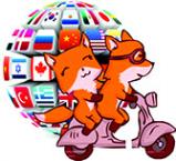 Логотип компании Хитрый турист