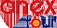 Логотип компании Планета путешествий-НСК