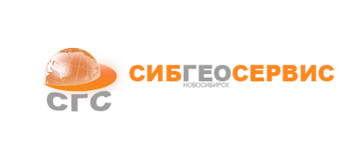 Логотип компании СибГеоСервис