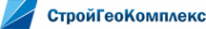 Логотип компании СтройГеоКомплекс