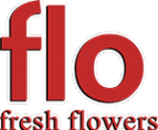 Логотип компании Flo fresh flowers