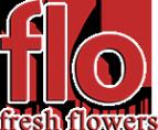 Логотип компании Flo fresh flowers