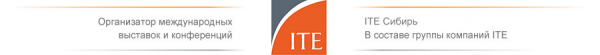Логотип компании ITE Сибирь