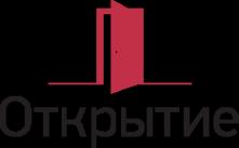 Логотип компании Открытие