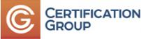 Логотип компании Сертификейшн Групп